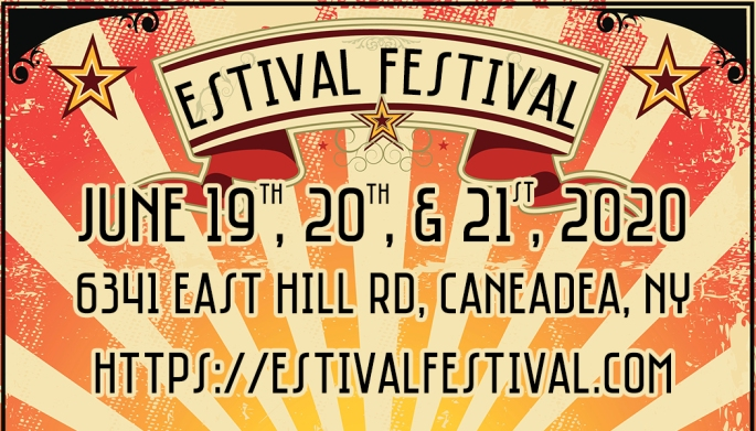 Estival Festival 2020 June 19th, 20th, and 21st